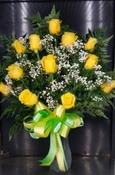 12 Yellow Roses FLOWERS
