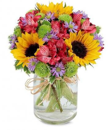 Flower Fields in a Jar