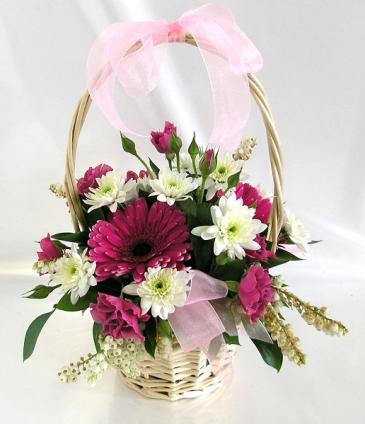 123 Basket of Flowers