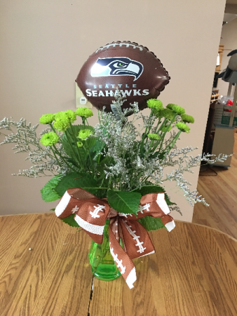 12man fan vase arrangment