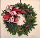 12X20 Fresh Christmas Wreath