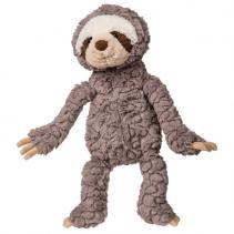 "13 "" Gray Putty Sloth Stuffed Animal"