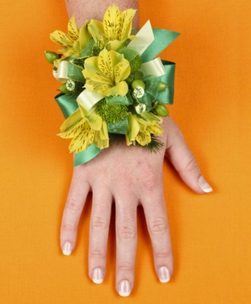 SPRING SUNSHINE Prom Corsage