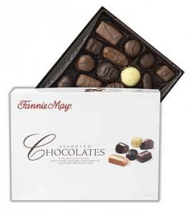14 oz of  Fannie Mae Premium Chocolates Gift