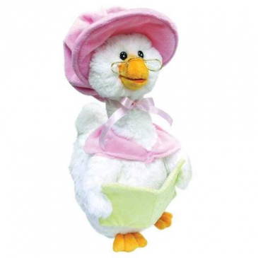 "14"" Pink Storytime Mother Goose"