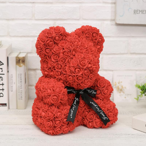 "14"" Red Rose Teddy Bear  in Bronx, NY 