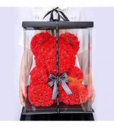 14inch Red Rose Bear With Box Red Rose Bear