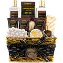 14Pc Sandalwood Bath & Beard Set Bath & Beard Grooming Kit