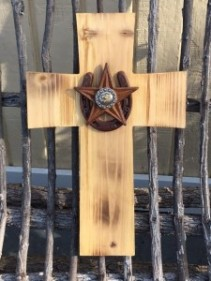 "15"" Horseshoe/Star cross"