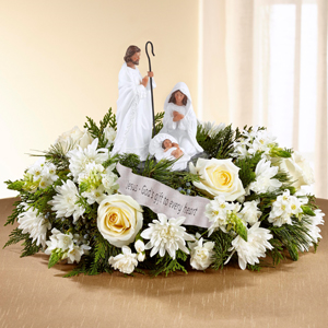 17-C11D DaySpring® God's Gift of Love™ Centerpiece