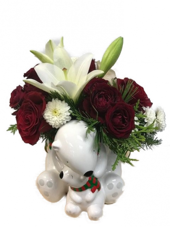 175  Send a Hug Cuddle Bears Bouquet