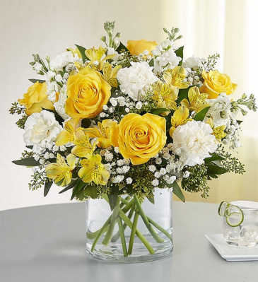 176259   Yellow & White Delight Bouquet