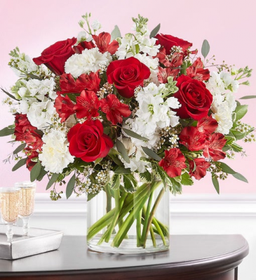 176346 CRIMSON ROSE BOUQUET