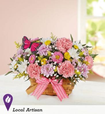176348 Blossoming Blooms™ Basket