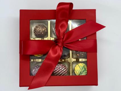 Medium Box of Chocolates Jean Pierre Chocolat