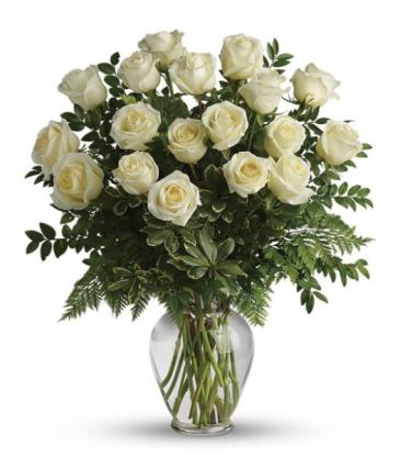 18 Elegant White Roses