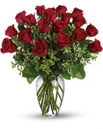 Classic Rose Arrangement 18 Roses