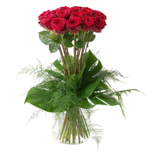 Supreme Bouquet Vase Arrangement in Port Stanley, ON | FLOWERS BY ROSITA