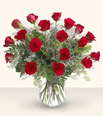 18 Ways to Say I Love You Rose Arrangement