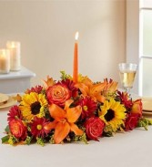 Fall Fields of Europe Centerpiece Thanksgiving