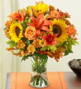 Flowers Fields of Europe for Fall Fall Arrangement