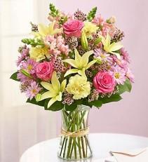 FIELDS OF EUROPE FOR SPRING Vase Arrangment