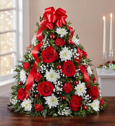 Holiday Flower Tree Boxwood Tree