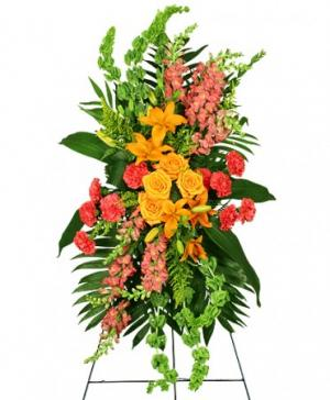GLORIOUS LIFE Funeral Flowers in Rolling Meadows, IL | ROLLING MEADOWS FLORIST