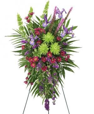 INSPIRATIONAL STYLE Funeral Flowers in Plainview, TX | Kan Del's Floral, Candles & Gifts