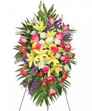 FONDEST FAREWELL Funeral Flowers in Franklin, IN | BUD AND BLOOM SOUTH INC.
