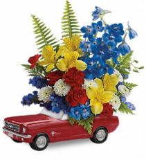 1965 Ford Mustang Bouquet Arrangement
