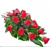 1Dozen Red Rose Presentation Bouquet Presentation Bouquet