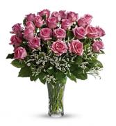 2 Dozen Pink Roses Arrangement