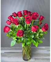 2 Dozen Red Roses - Classic