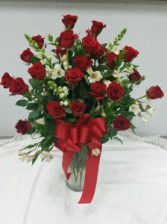 2 dozen Rose arrangement