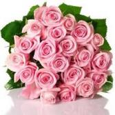 2 dozen rose bouquet wrapped