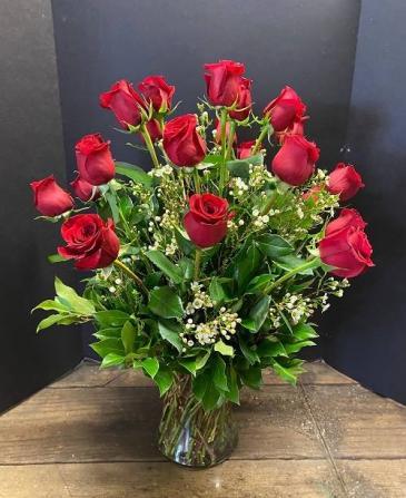 2 Dozen Red Roses - VAL - 2/MOM-2 Roses
