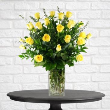 2 Dozen Yellow Roses