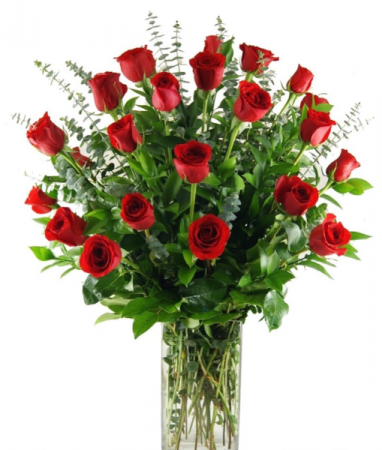 2 DZ RED ROSES Love and Romance
