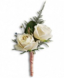 2 Spray Rose Boutonniere Boutonniere