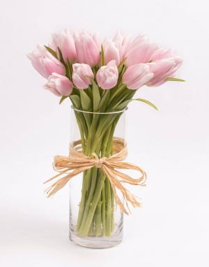 Pink Tulips Birthday  in Coconut Grove, FL | Luxury Flowers