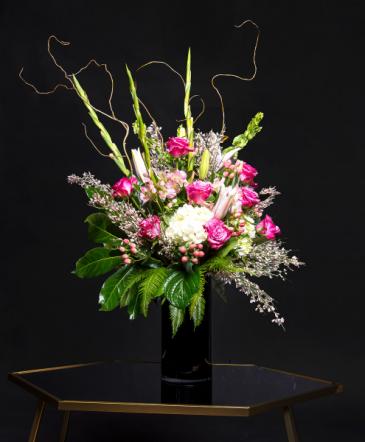 Pink lady Vase Arrangement