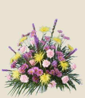 MIXED FRESH FLOWERS Sympathy Tribute in Mansfield, OH | Alta Florist Mansfield