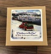 2020 clarenville chamber of commerce Pewter Christmas ornament