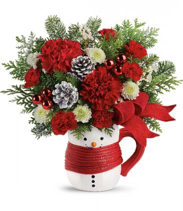 Sold Out** Send a Hug Snowman Mug   T19X500A   2019