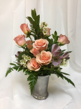 2019 Sweetheart Bouquet All around arrangement and colors will vary.
