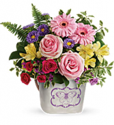Teleflora's Backyard Butterfly Bouquet T19M205A * Local only