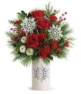 2019 Teleflora's Flurry Of Elegance Bouquet T19X300A