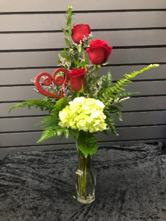 2021 Love Note vase arrangement