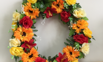 "20""wreath Artificial arrangement"
